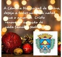 A Câmara Municipal de Seabra deseja a todos um feliz Natal!